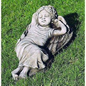 Dragonstone Gartenstatue schlafender Engel