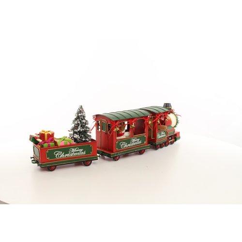 Eliassen Miniature model Christmas train look