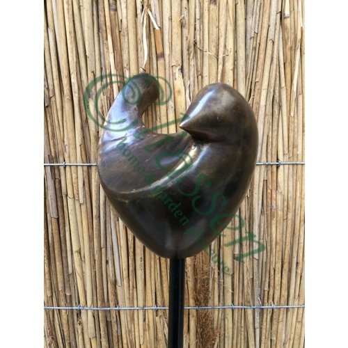 Eliassen Bronzener Gartenstecker Vogel