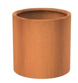 Adezz Producten Cylinder pot Atlas Adezz corten steel