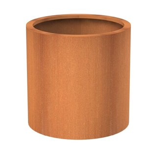 Adezz Producten Cylinder pot Atlas Adezz corten steel