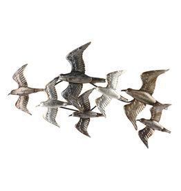 Wanddeko 3d 7 Birds