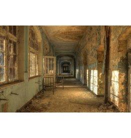 Glasmalerei 80x120cm Altes Krankenhaus