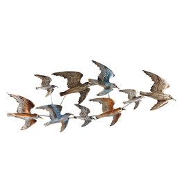 Wanddeko 3d 9 Vögel