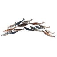 Wanddekoration 3d 15 Fische