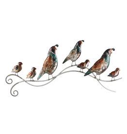 3D Wanddekoration Vögel mit Jungen