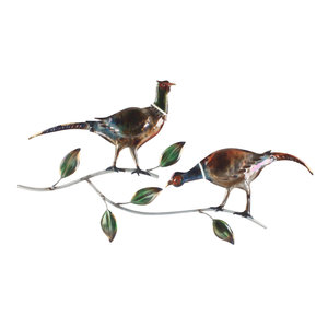 3D wall decoration 2 Pheasants