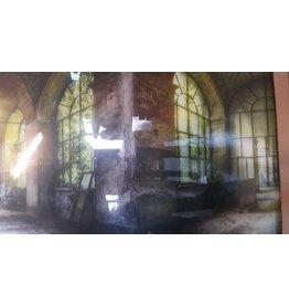 MondiArt Glasmalerei Klooster 80x120cm