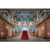 Glasmalerei Roter Teppich 160x110cm