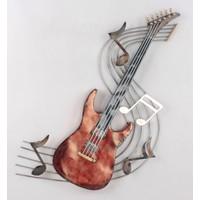 Wanddekoration 3d Gitarre