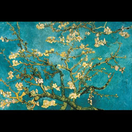 MondiArt Dibond Gemälde Mandelblüte van Gogh