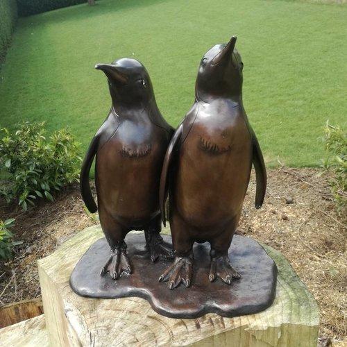 Eliassen 2 Bronzen pinguins