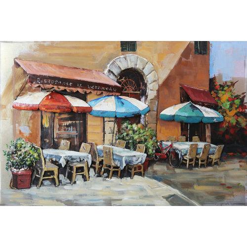 Eliassen Metal painting Terrace Milan