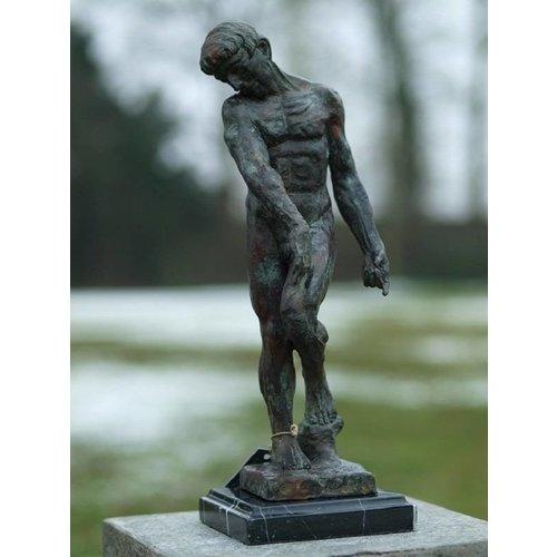 Eliassen Bronze Adam von Rodin 45 cm