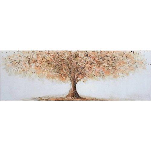 Canvas schilderij 50 x 150 cm Boom