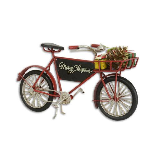 Eliassen Miniaturmodell Weihnachtsfahrrad-Look