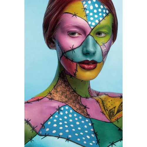 Farbige Glasmalerei Bilder 80x120cm