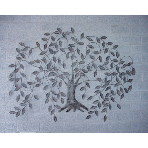 Wanddekoration Trauerweide 11x85cm