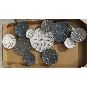Wall decoration 3D Gray