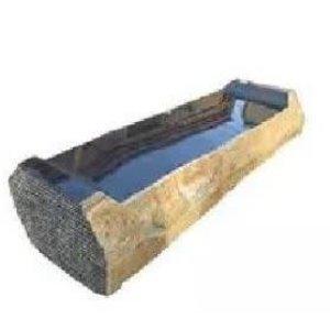 Garden bench basalt Born