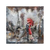 Metall 3D Gemälde Paris 60x60cm