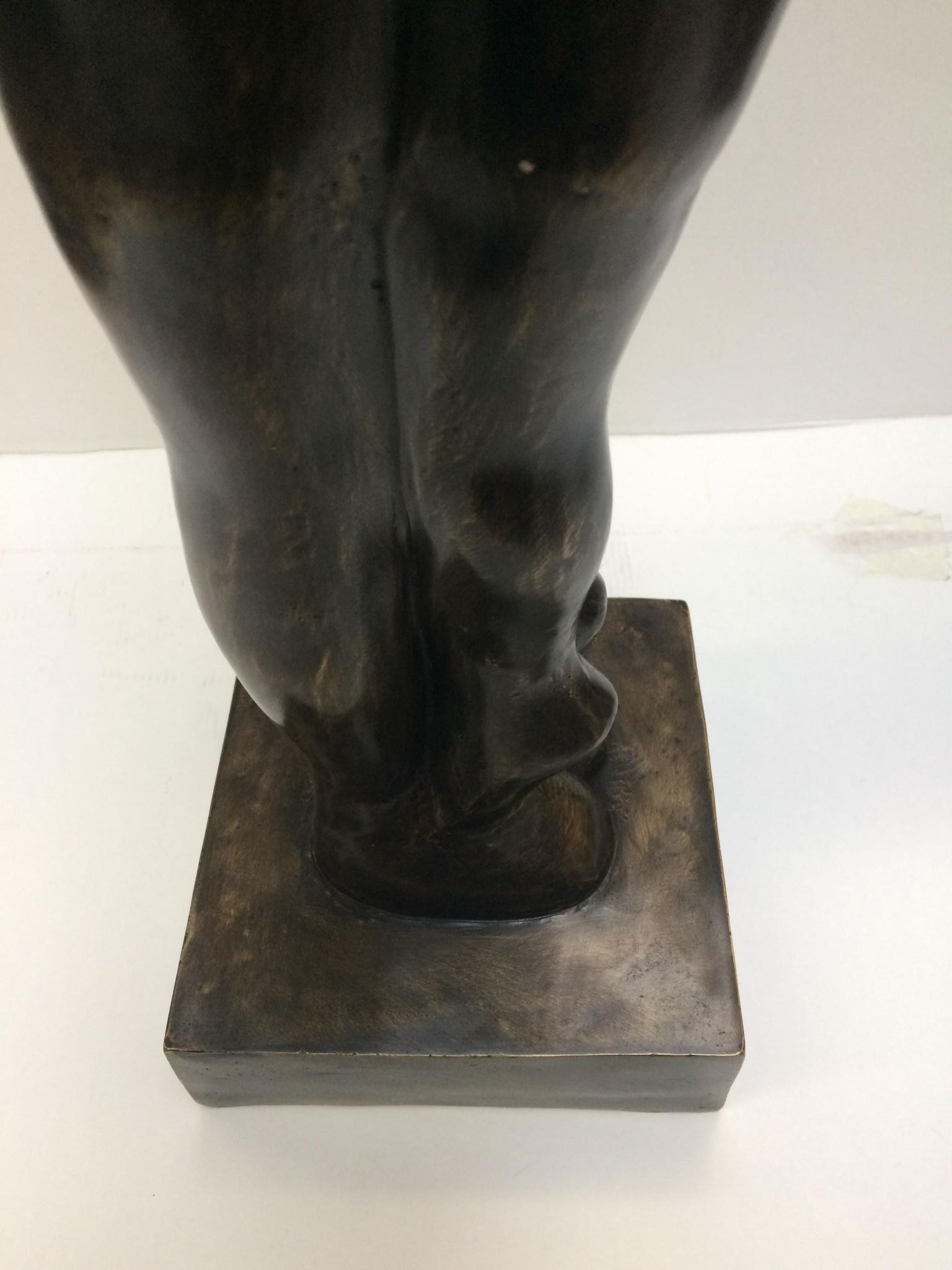 Bronze Skulptur umarmen