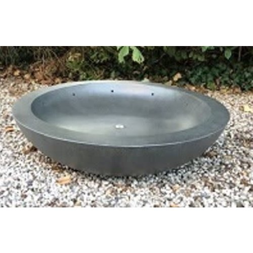 Fountain bowl Fiber 80cm dark gray