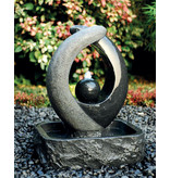 Fontein graniet Blaze Black