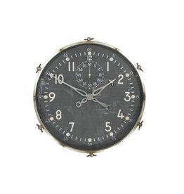 Wall clock large around Mirka