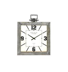Merke square wall clock
