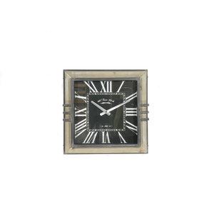 Wall clock square Mirki