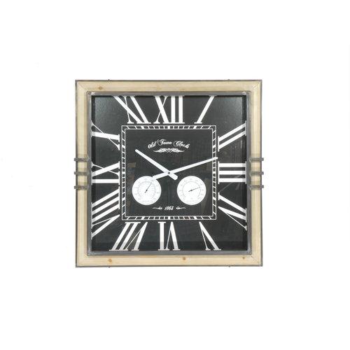 Wall clock square Murku