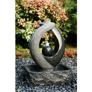 Blaze Black granite fountain