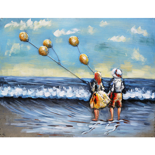 3D painting Kite flying 80x60cm