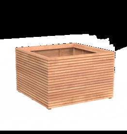 Rhombus Adezz hardwood planter in many sizes