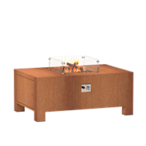 Adezz Fire Elemente Gas Corten Stahl in 5 Größen