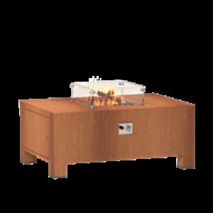 Adezz Vuur elementen gas cortenstaal in 5 maten