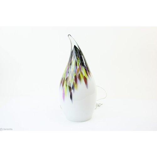 Glass lamp 'Casper' murrina 55 cm