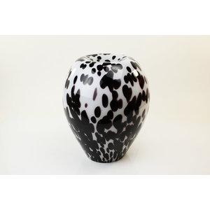 Glaslampe 'Dalmatiner' 36cm