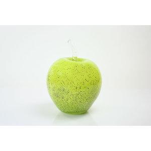 Glas beeld Appel groen 20cm