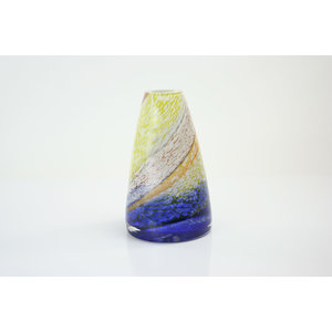 Glass vase Palette 28 cm