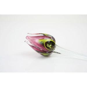 Blumenglas Tulpe Multi Pink