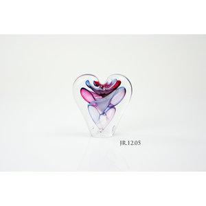 Kristallglas Objekt Herz Multi 12cm