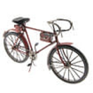 Eliassen Miniature model can bicycle red