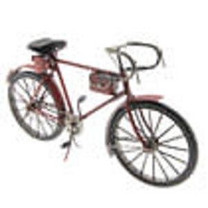 Eliassen Miniatuurmodel blik fiets rood