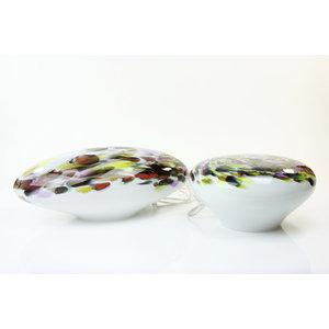 Lamp glass 'Murrina' low length 40-42 cm