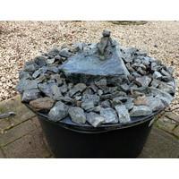 Brunnen Set Frosch Heinrich entspannen