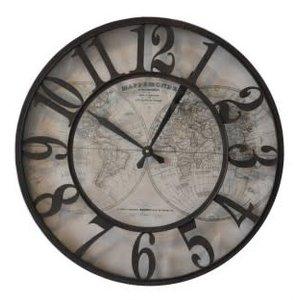 Rund um die Welt rund um die Uhr 60cm