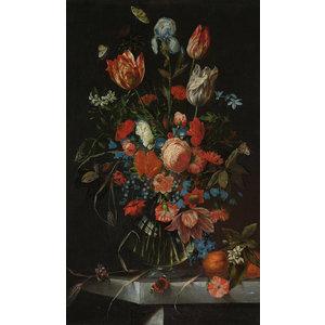Glasmalerei Blumenstrauß Jan Davidsz 1650-1683