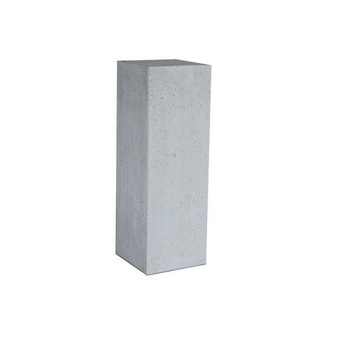Plinth polystone Gray rough 34x34x100cm